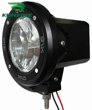 Cheap shipping ! 12V/35W auto HID spot/flood Light, 4' HID off road light ,hid driving Light KF-3433+ 14months warranty