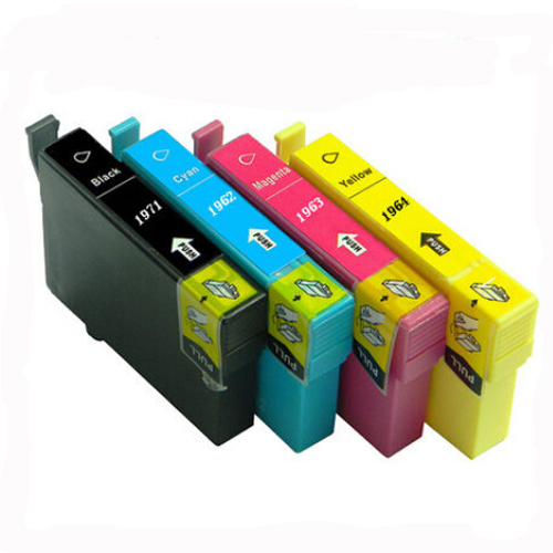 1Set T1971 T1962 T1963 T1964 Ink Cartridge For Epson XP211 XP101 XP201 XP401 XP214 XP-401 XP-101 XP-201 XP-211 XP-214 Printer<br><br>Aliexpress