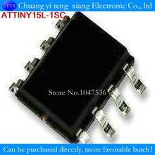 TINY15L TINY15L-ISC TINY15L-1SC TINY15 SOP8 10PCS/LOT 100%NEW 8-bit AVR Microcontroller with 1K Byte Flash(China)