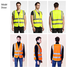 Unisex Safety High Visibility Reflection Vest For Building Safety Construction, Workwear, Wholesale Provide Logo Printing