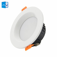 [DBF]Dimmable 7W 10W 12W LED Panel Down Light High Power SMD 5730 LED Downlight LED Recessed Ceiling Light Spotlight 220V+Driver