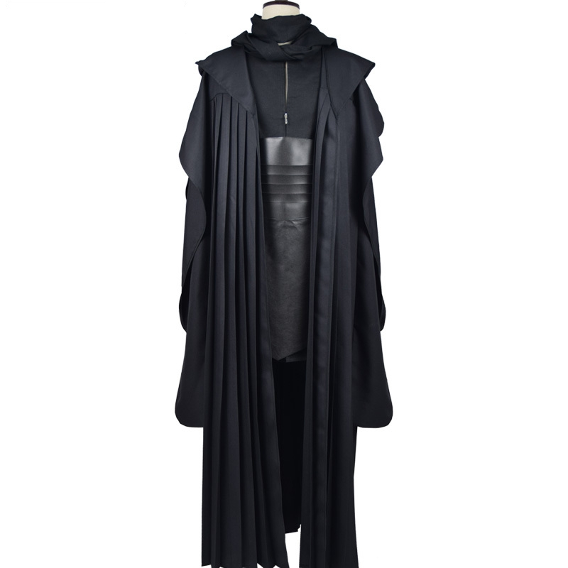 Star Wars Darth Maul Tunic Robe Uniform Cosplay Costume Linen Version