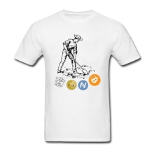 Buy Cryptocurrency Miner T Shirt Short Sleeve Custom Pp Vegan Cotton Plus Size Bitcoin Dogecoin Litecoin Tees Shirts Homme for $12.76 in AliExpress store