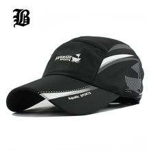 [FLB] 2017 Unisex baseball caps Summer Snapback Breathable motorcycle Female Fitted Quick-Dry Men women Hat Camping Raiders