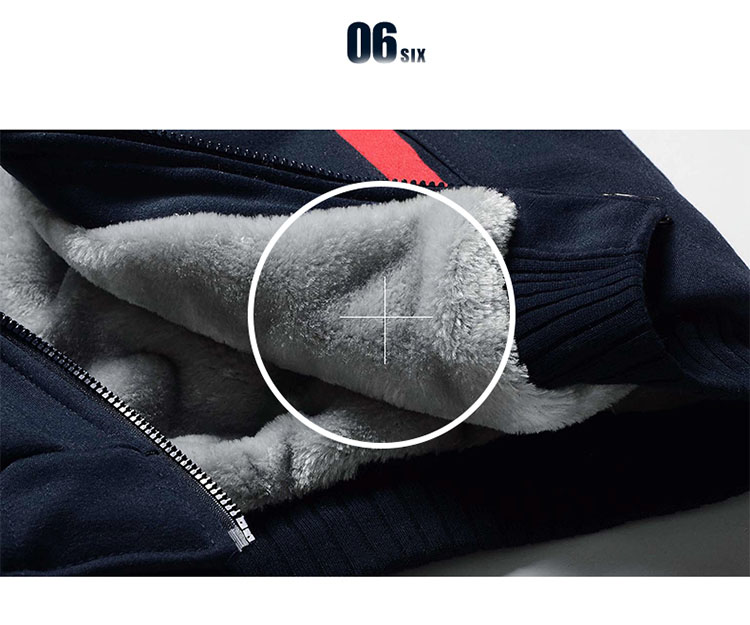 5XL Fleece Hoodies Men Winter Warm Mens Hooded Jackets Tracksuits Outwear Patchwork Sportswear Thicken Wool US Size Sweatshirts 15
