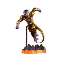 Dragon Ball Z Freeza Freezer Ultimate Form Anime Cartoon Combat Edition Gold PVC Action Figure Collectible Toys #FB(China)