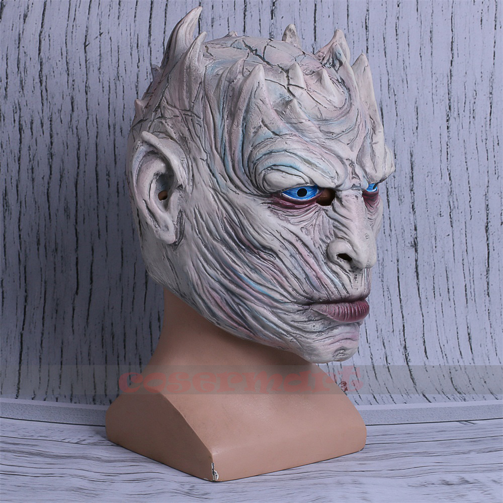 Cosplay Game of Thrones Night's King Walker Face NIGHT RE Zombie Halloween Mask For Adults Throne Costume Party Accessory (7)