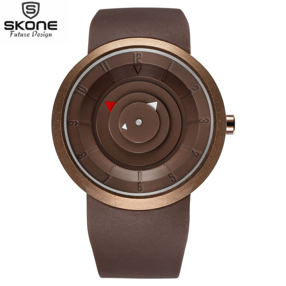 SKONE Brand Mens Fashion Casual PU Strap Quartz Watches Vogue Concept Style Novelty Wristwatches for Student Relogios masculino<br><br>Aliexpress