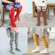 2016 Autumn and Winter New Cute Tights Cotton Children Baby Girl Winter Stocking Kid Toddler Pantyhose For 0-3 Years(China)