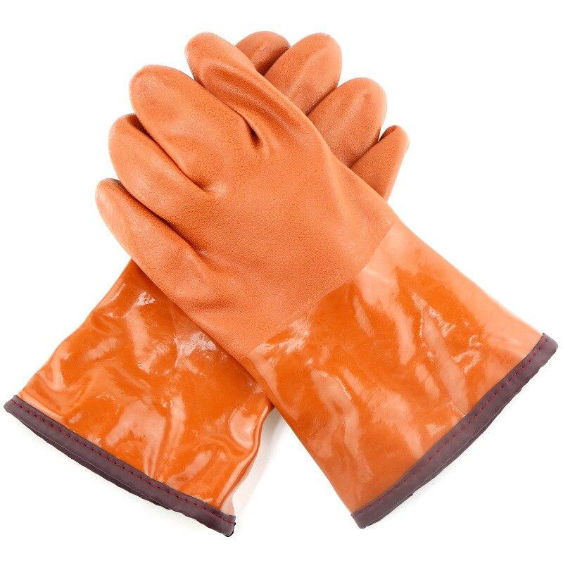 Cold proof gloves oil resistant protective gloves acid<br>