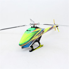 Free Shipping ALZRC Devil 380 FAST Flybarless Gyro 6 CH 3 Blade Rotor TBR Helicopter Kit Helikopter RC Toy Kids Drone Aircraft