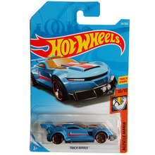 New Arrivals 2018 8b Hot Wheels 1:64 blue track ripper Car Models Collection Kids Toys Vehicle For Children(China)