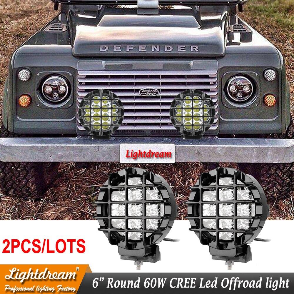 3.9 inch 20W LED Work Light Spot Beam Spotlight Lamp Truck ATV SUV Off-road 4WD