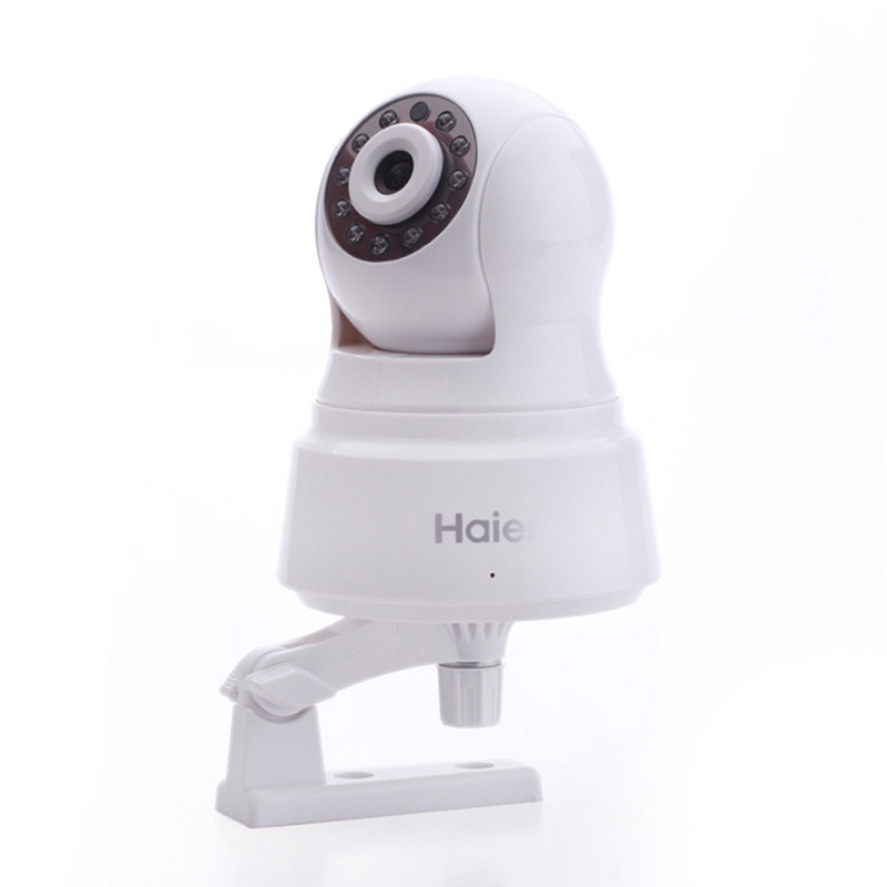 Haier Wireless Camera Wifi HD 720P P2P IP Camera Support TF Card Indoor Surveillance Camera Night Vision Motion Detection<br><br>Aliexpress