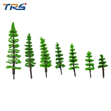 Teraysun 3-9CM architectural model making Model Trees Toy Architectural Model Railroad Layout Garden Landscape Scenery