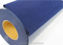 CDF-05 Navy blue Flock Vinyl Heat Transfer Film,Heat Transfer Vinyl Material Heat Press Vinyl(China)