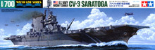 "TAMIYA 1/700 scale model 31713 U.S. Navy Lexington class aircrafts carrier ""Saratoga CV-3""(China)"