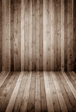 HUAYI Light Ash Brown wood floor photo studio background backdrop MODEL photo BACKDROP  D-9684