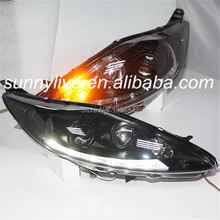 For FORD Fiesta LED Head Lamps SONAR Style 2009 to 2012 Year SN