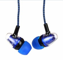 Wholesale price Earphone Noise Isolating Headset Wired In-Ear Stereo Earbuds Universal earphone For iPhone Samsung Mp4