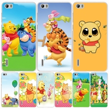 My Friends Tigger&Winnie the Pooh Bear cell phone Cover Case for huawei honor 3C 4A 4X 4C 5X 6 7 8 Y6 Y5 2 II Y560
