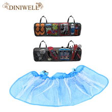 DINIWELL Car Boot Seat Back Foldable Hanging Storage Bag Organiser Storage Pouch Trunk Organizer For Auto Trunk(China)
