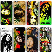 Bob Marleys Hard Transparent Cover Case for iPhone 7 7 Plus 6 6S Plus 5 5S SE 5C 4 4S