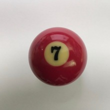 NEW Free shipping 1pcs NO.7 Pool table snooker Billiard table Cue ball 2-1/4