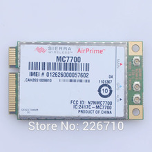 UNLOCKED MC7700 LTE 700 (B17) GPS HSPA 3G 4G PCI-E WWAN module Card 100Mbps Wireless for laptop notebooks tablet Free shipping(China)
