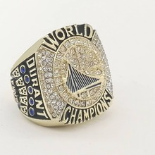 Promotion 2017 Golden State Warriors Durant Round Basketball custom sports Replica world Championship Ring size 6 to 15
