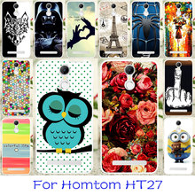 Buy Silicon Phone Cases Homtom HT27 5.5 inch Bag Cover Flexible Back Coque Homtom HT27 Shock-Proof Housing Cover Skin Case for $1.28 in AliExpress store