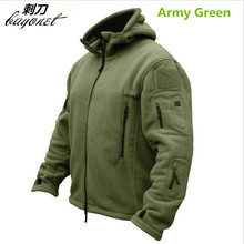 Tactical Jacket Man Fleece TAD Tactical  Polartec Outdoor  Softshell Jacket Outdoor Sport Hooded Coat Outerwear Army Clothes