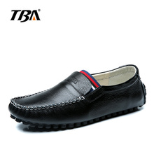 Buy Spring Autumn Luxury Mens Designer Loafers Cow Leather Black White Casual Shoes Man Slip Brand Flat Mens Moccasins Shoes 5885 for $45.00 in AliExpress store