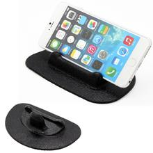 2015 Hot Selling Dashboard Pad Car Cell Phone Holder Sticky Silicone Pad Mount Stand Small Size