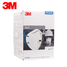 3M 8822 Mask 10Pcs/Lot Respirator Anti PM2.5 Masks FFP2  Standard Masks Anti Industrial Dust Certified EN148:2001 H012818