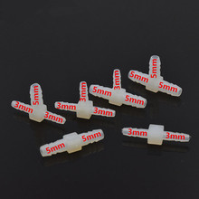 10pcs/bag Dental Fitting Connector Dental Valve for dental Air Water Plastic Tube Connector Pipe Fitting Dental Chair parts