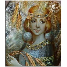 NEW DIY Diamond Painting Crafts Diamond Mosaic Home Decorative Painting Cross Stitch 5D Diamond Embroidery Harvest Girl Pattern