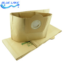 Original OEM Disposable big Vacuum cleaner dustbag,Composite paper garbage bag,for RU630/1113 RB820 ZR814,Vacuum cleaner parts(China)