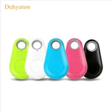 Dehyaton Anti-lost Smart Bluetooth Tracker Child Bag Wallet Key Finder GPS Locator Alarm 5 Colors Pet Phone Car Lost Reminder(China)