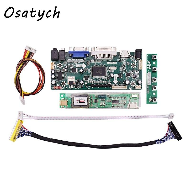 M.NT68676.2A HDMI DVI VGA Audio LCD Controller Board for LP154WX4 TLC1 1280x800 LP154WX5 CCFL LVDS raspberry pi<br>