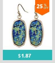 Monogram Jewelry Turquoise 16mm Post Earrings Mint Acrylic Clover Disc  Blank Stud Earrings for Women Round Monogram Earrings e83702cfffd4