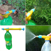 1pcs Plastic Hand Sprayer Gardening Pressure Pump Spray Water Bottle Spread Tool for Garden Supplies(China)