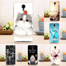 Newest Soft Back Cartoon Case Fashion Cover for General Mobile GM 5 GM5 5.0 inch Funda Coque Flowers Cases