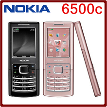 6500C Original Nokia 6500C Bluetooth GSM 3G Unlocked Cell Phone One year warranty Free Shipping(China)