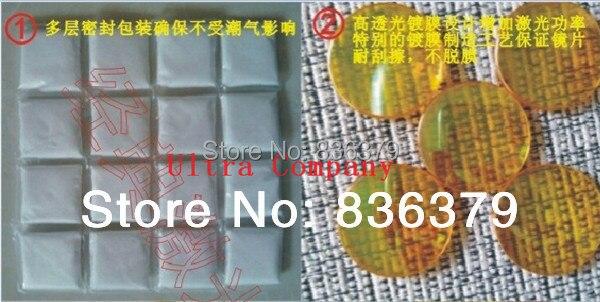 Cheap 19mm ZnSe Focus Lens laser lens for CO2 Laser lens 63.5mm focal<br>