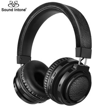 Sound Intone P3 Sans Fil Bluetooth Casque Support TF Carte Stéréo Casques Avec Bluetooth 4.1 et Micro Casque pour Téléphone