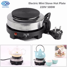 Electric Mini Stove Hot Plate Cooking Plate Multifunction Coffee Tea Heater Home Appliance Hot Plates for Kitchen 220V 500W(China)