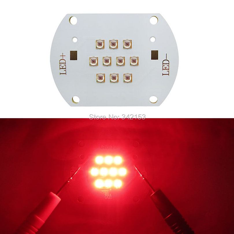 Free Shipping 30W Epileds 45MIL Led Red 620nm - 625nm 22-28V 350-700mA LED Light Emitter For DIY Led Plant Grow Light<br><br>Aliexpress