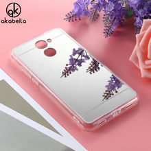 AKABEILA Case Cover For Huawei Y7 Prime Huawei Enjoy 7 Plus TRT-AL00A 5.5 inch Cases Plating Mirror Soft TPU Phone Back Covers