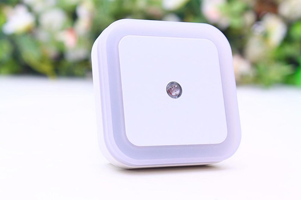 SuperNight Square AC LED Night Light Intelligent light control Sensor Home Decor Wall Lamp Corridor Stairs Bedroom Bedside Lamp (4)